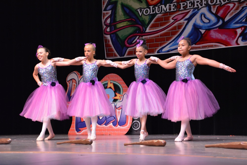 Ballet class performing in our 2016 showcase
