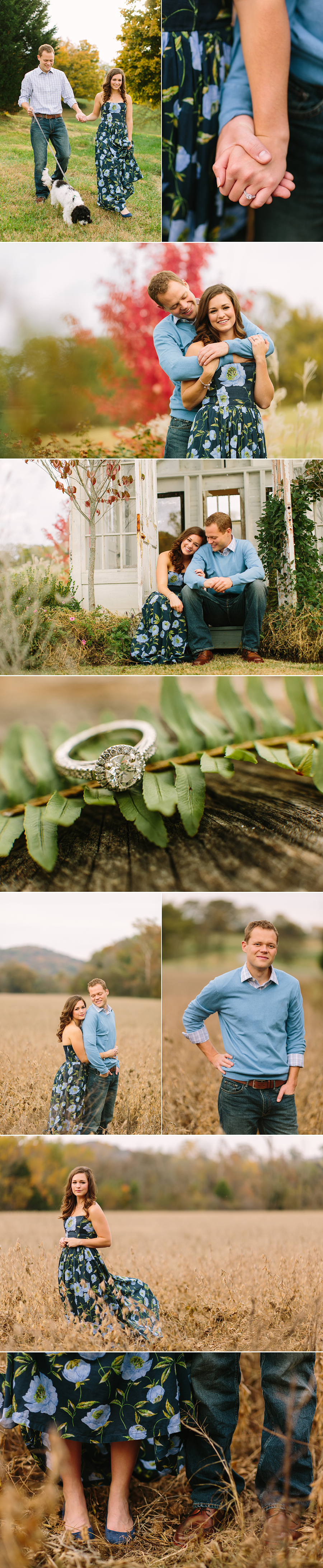 Mint Springs Farm Engagement Session
