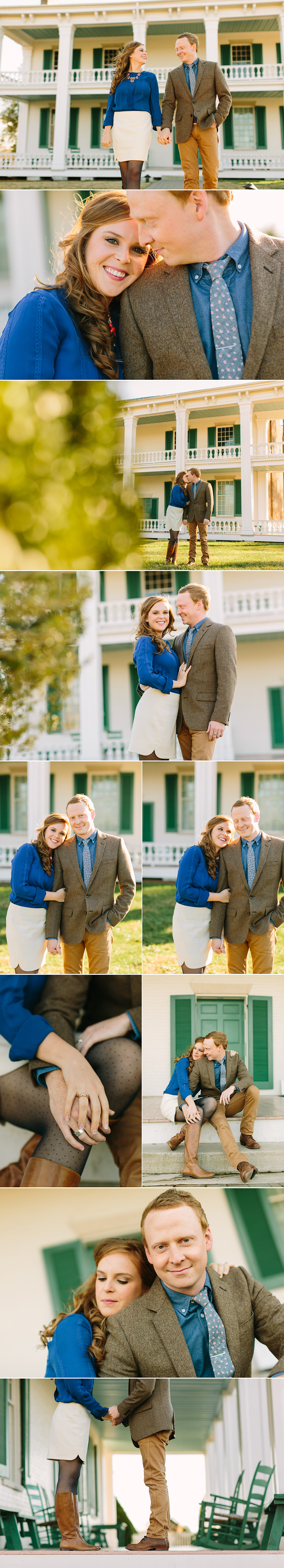 Carnton Plantation Engagement Session