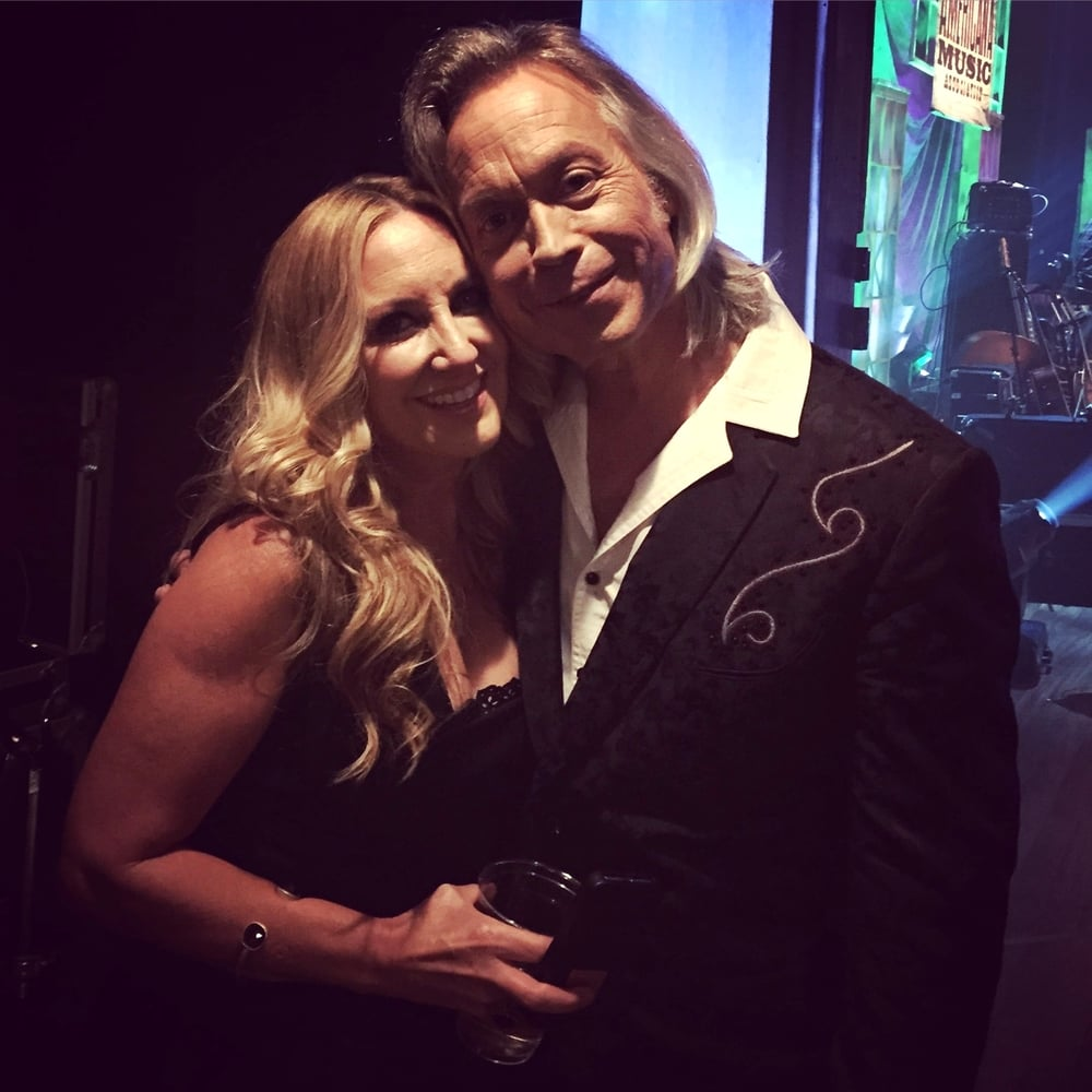 With Lee Ann Womack 2015 Americana Music Awards & Honors