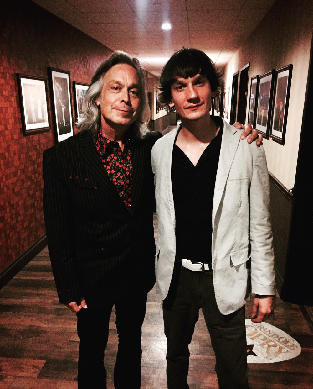 Jim and Cody Dickinson North MS Allstar backstage Opry 09_18_15.JPG