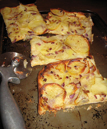 Jim Lahey's pizza patate
