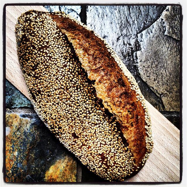 Sesame seed batard