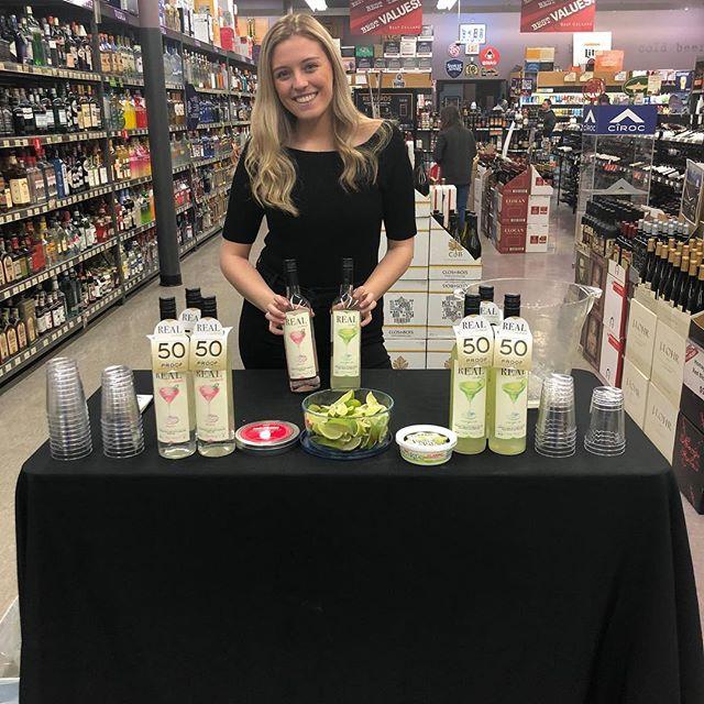 Real Cocktails samples @bestcellarsledgewood