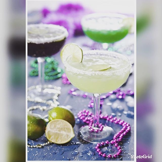 What's better than a Real Margarita or Cosmo on Fat Tuesday!  Bottoms up!