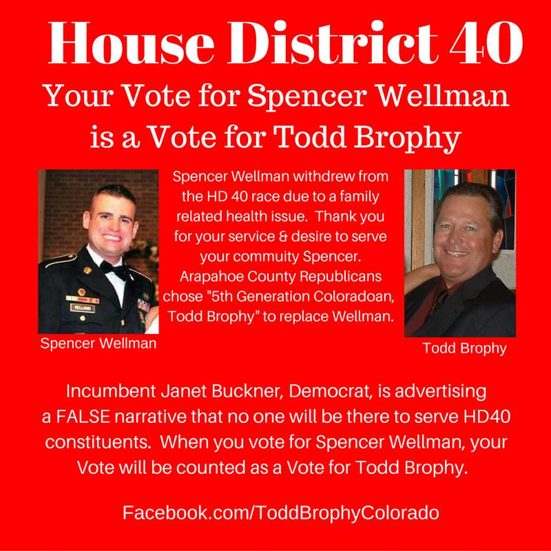 Todd Brophy (Spencer Wellman) - District 40