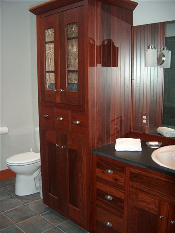 Traditional styling of reclaimed Jarrah.