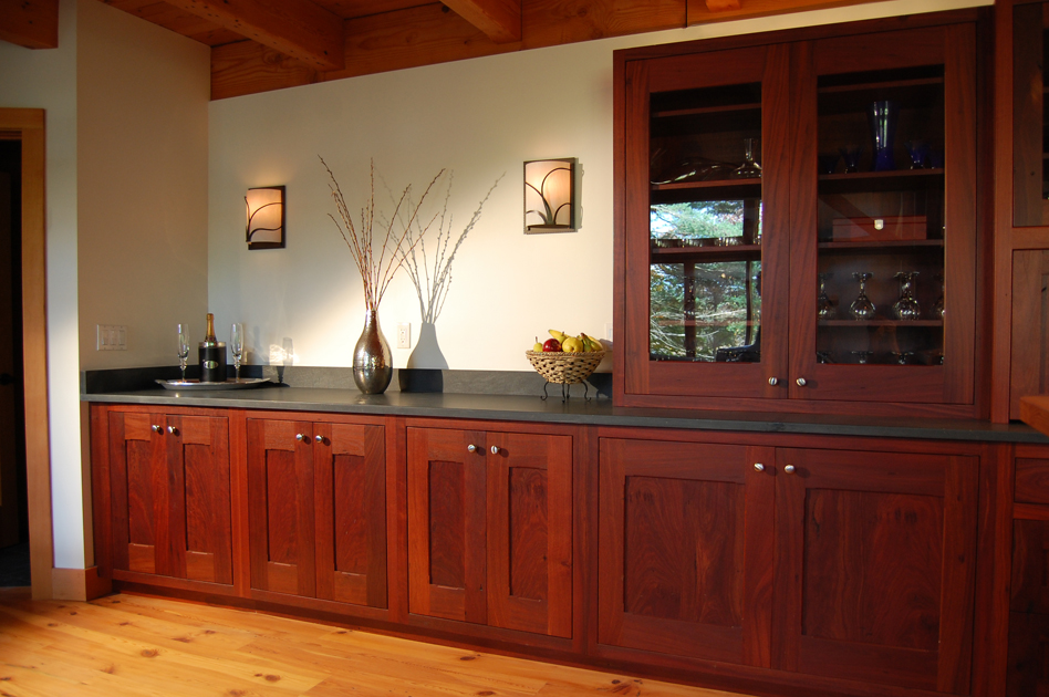 Reclaimed Jarrah kitchen cabinets