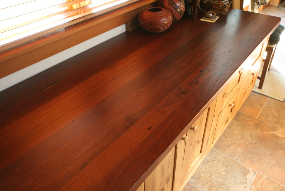 Reclaimed Jarrah top