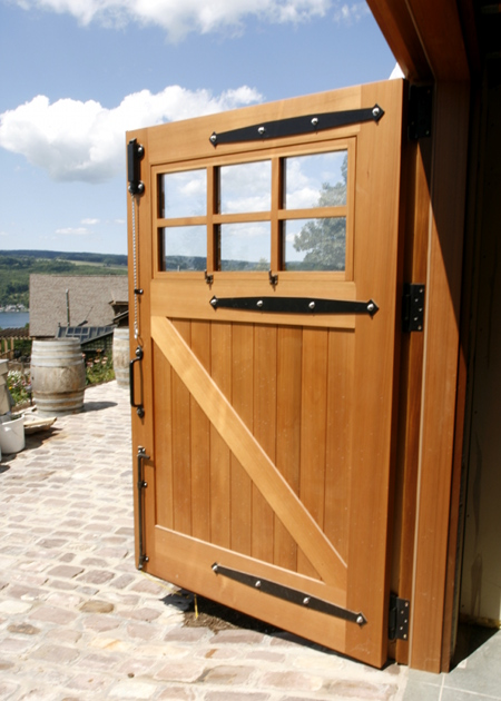 Custom Barn Door Keuka Lake Jpg