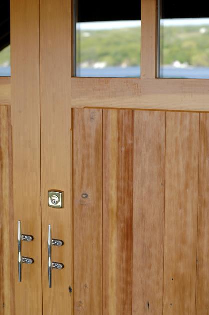 Custom Heart Pine Doors Jpg