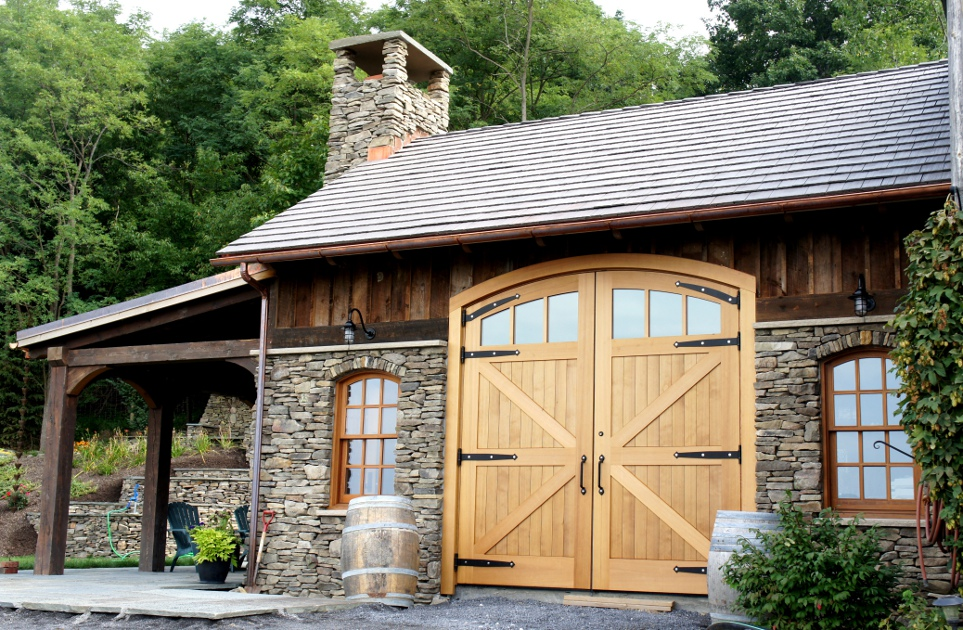 double barn entry doors