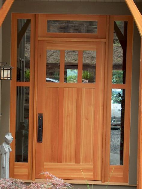 Delicieux Pine_front_door