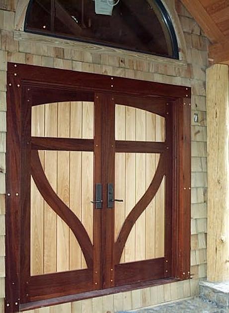 Two Tone Entry Doors Jpg