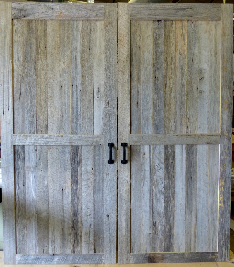 Reclaimed Barn Wood door.