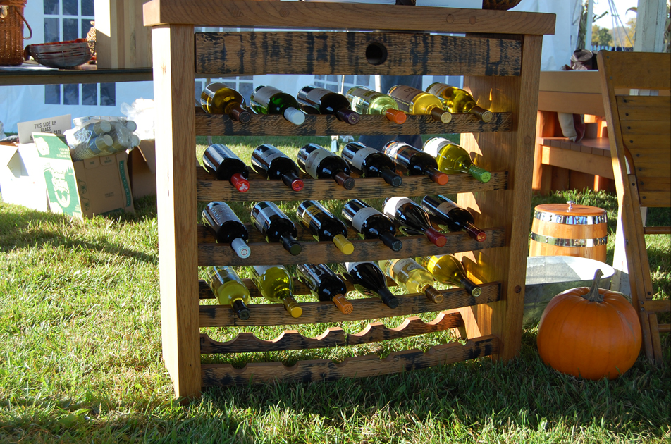 Wine Racks - made to order, located in our East Coast show room.