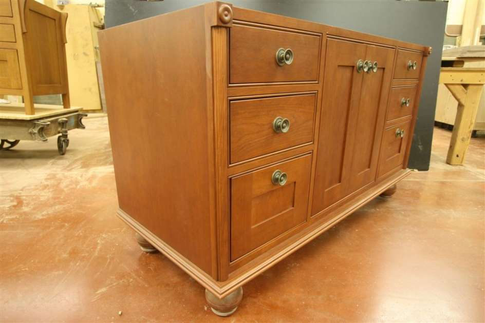 Cherry Vanity - located in our East Coast show room.