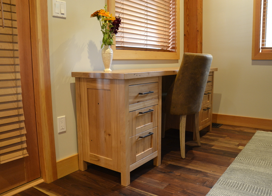 Reclaimed American Gothic Beech Desk