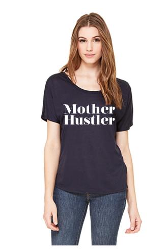 MOTHER HUSTLER SLOUCHY TEE