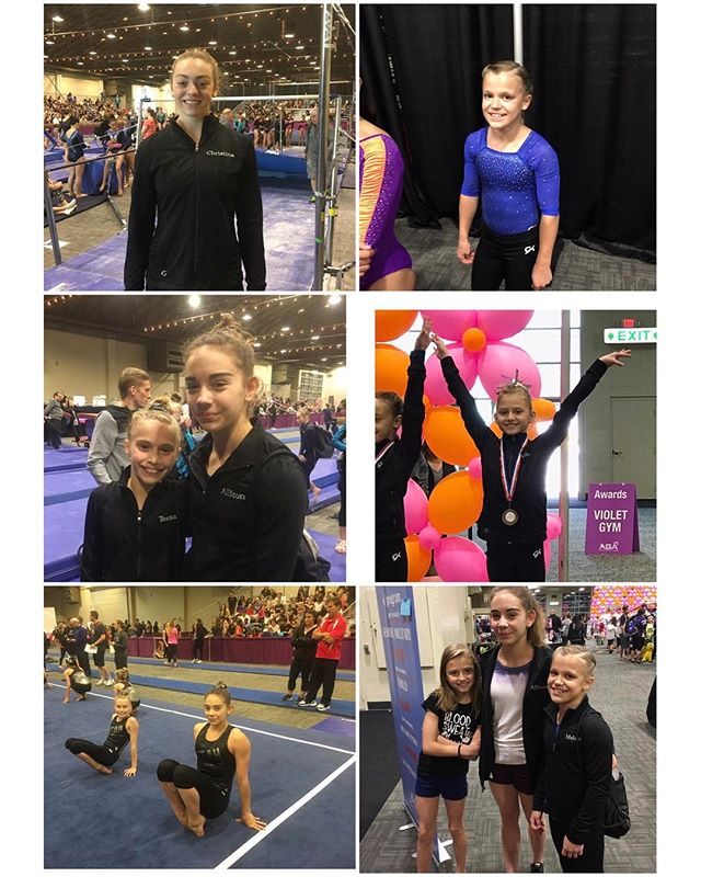 An amazing weekend for our Level 7 Gymnasts. Way to finish the season!! #gogtc #regiononegymnastics
