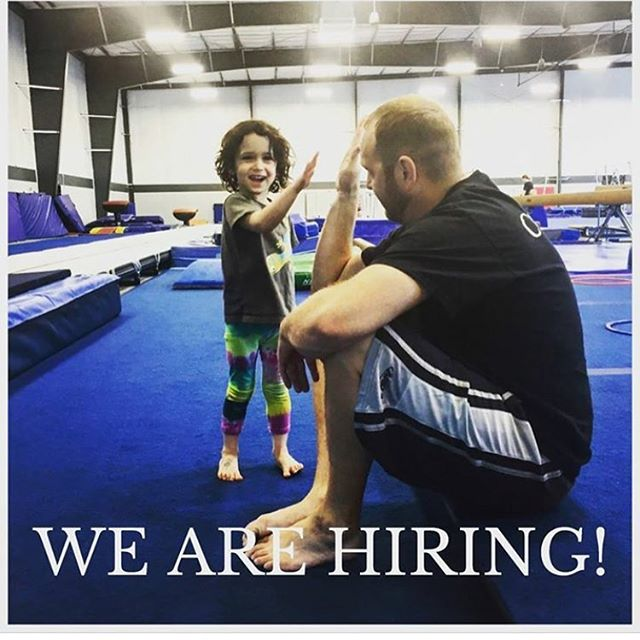 WE ARE HIRING for part time or full time coaching positions!! If you or someone you know would like to apply send resumes to utahgtc@gmail.com