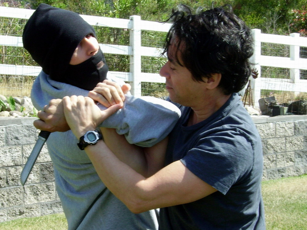 John Diaz teaching self-defense