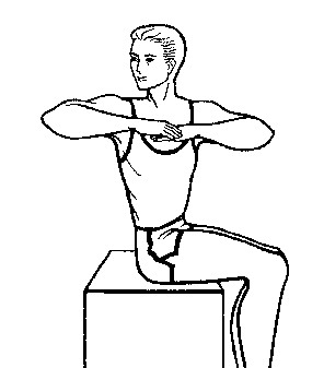 Man rotation stretch - Ultimate Health Personal Training Center - Los Angeles, CA