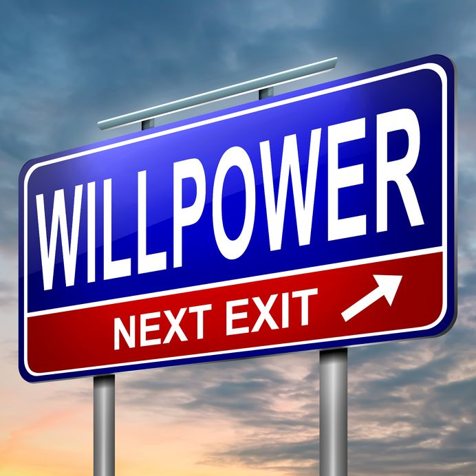Willpower street sign - Ultimate Health Personal Training - Los Angeles