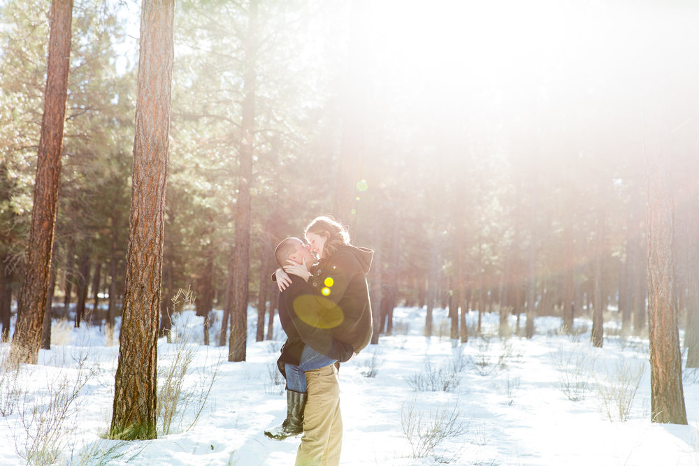 Emily + Tim // Bend, OR (engagement)