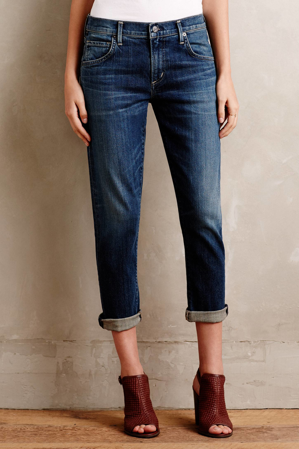 Emerson Crop slim boyfriend jeans Citizens Of Humanity 6qKR3