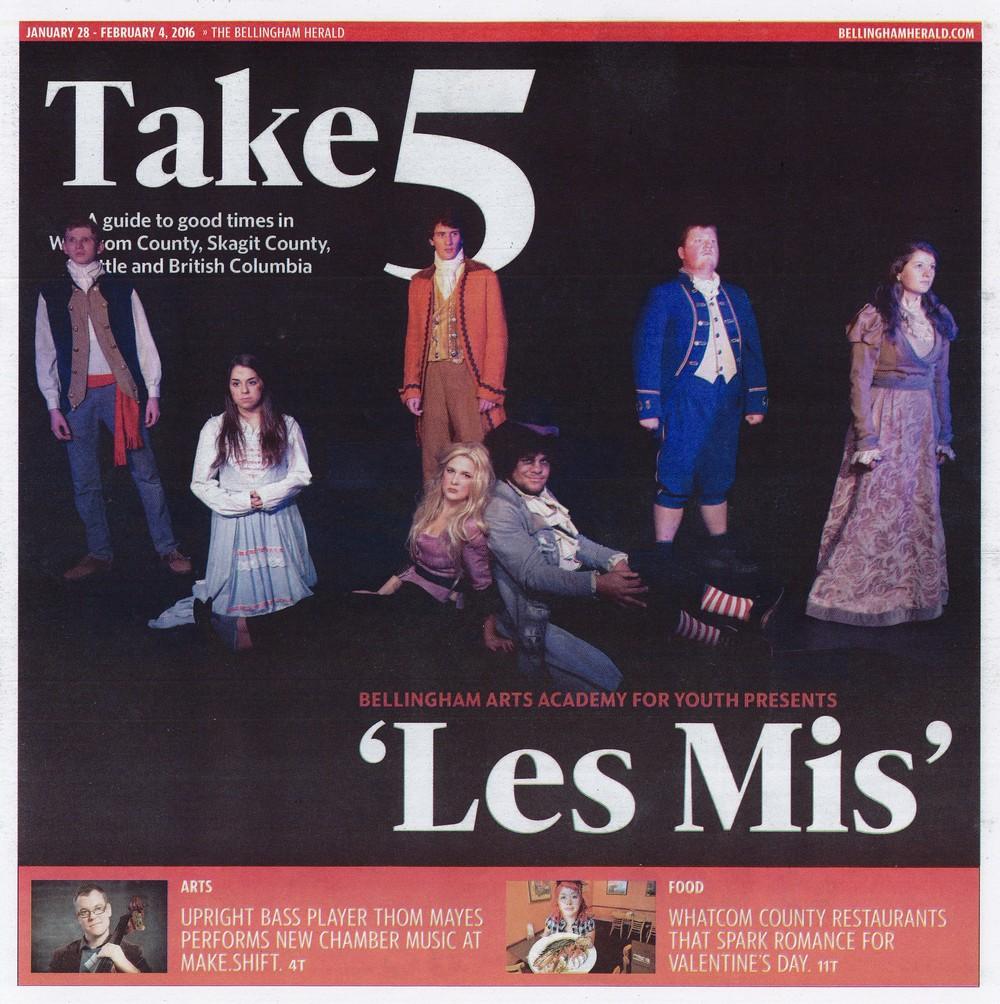 Take 5 Cover (February 2016)