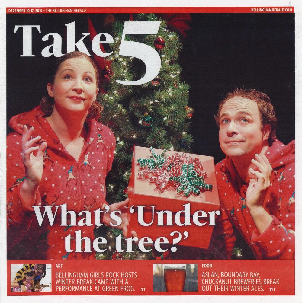 Take 5 Cover (December 2015)