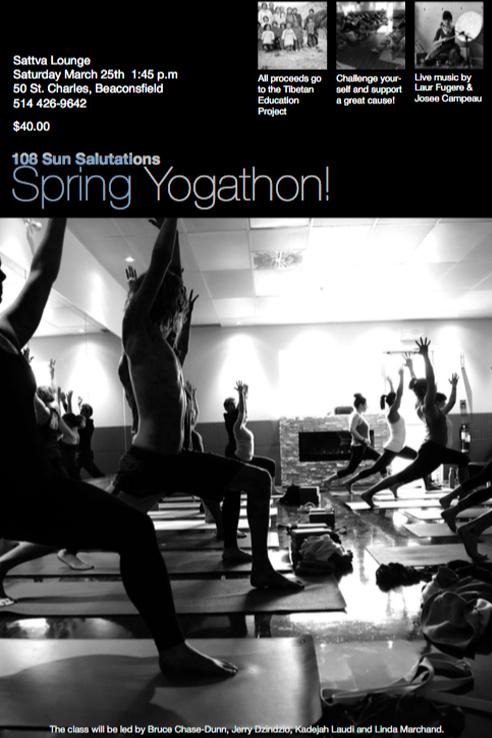 108 sun salutations spring yogathon