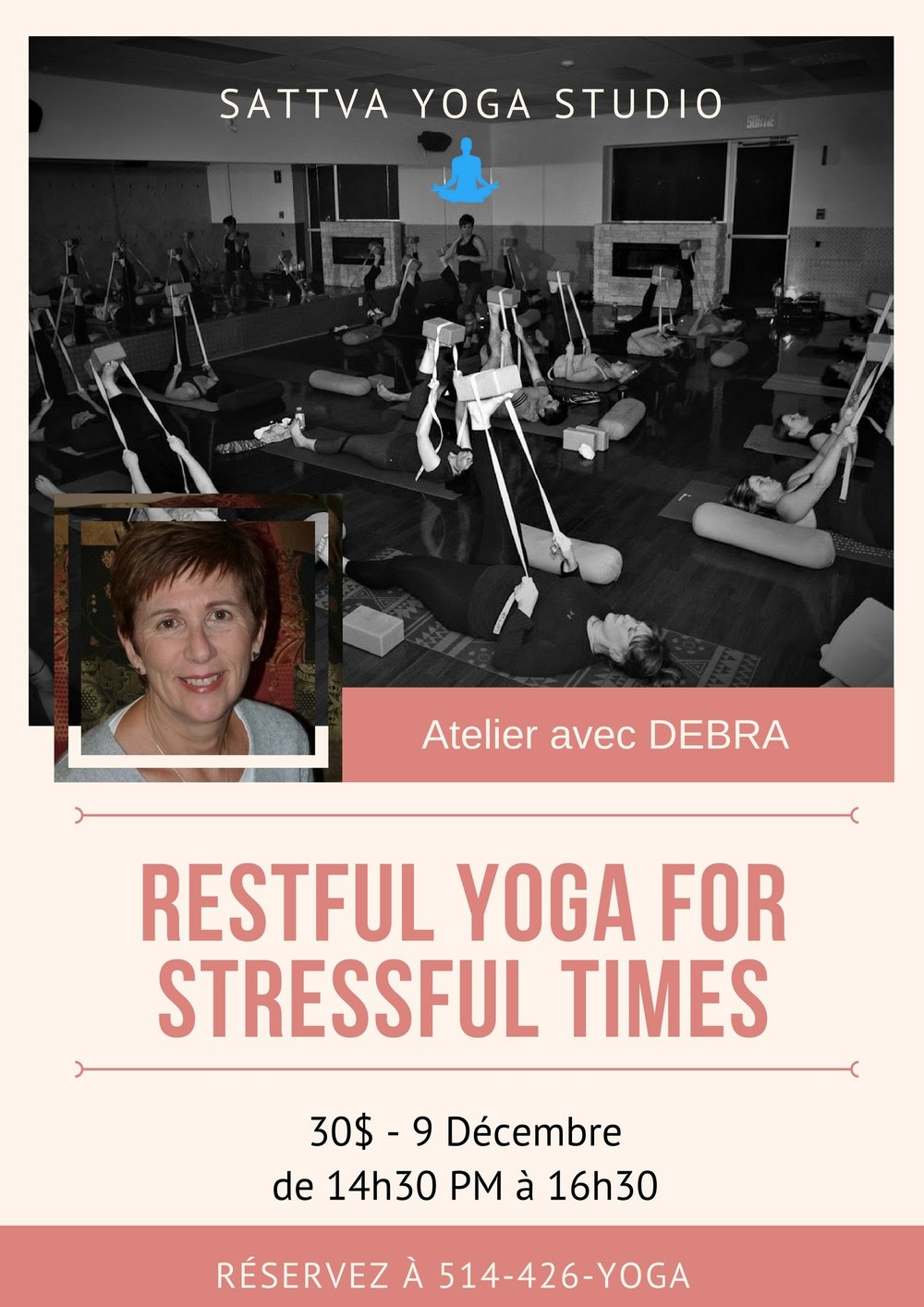 restful yoga for stressful times