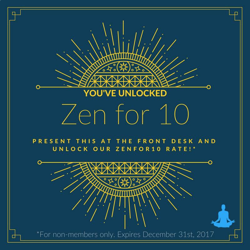 zen for 10 unlimited yoga at sattva beaconsfield