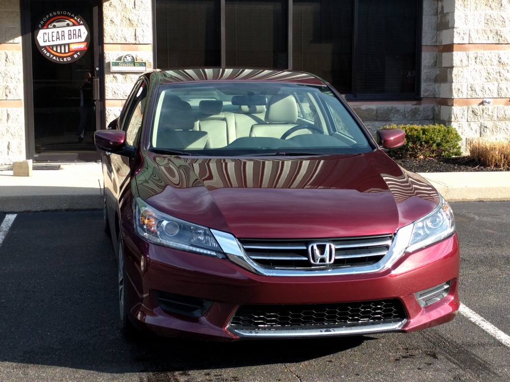 Honda Accord Preserves Looks with Clear Bra