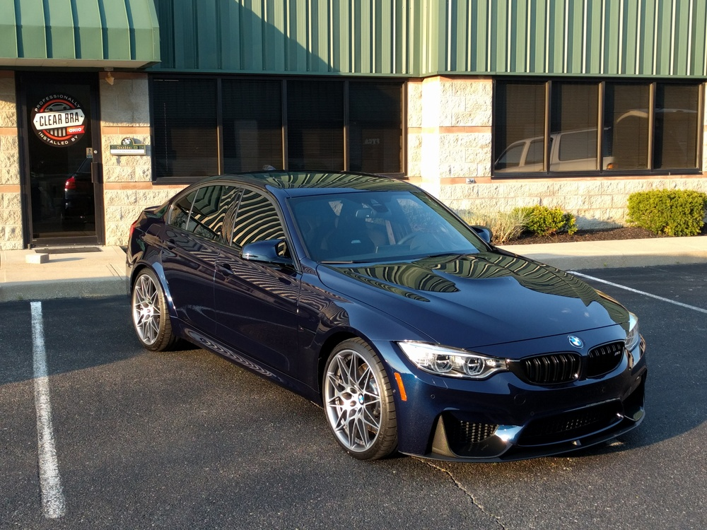 Beautiful BMW M3 Gets Xpel Ultimate Paint Protection
