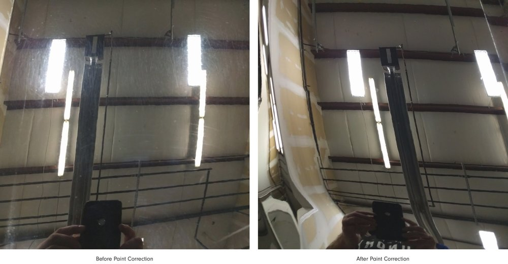 Paint Correction - Paint correction is the art of restoring a vehicle finish to its highest level of reflection through a lengthy and meticulous process. Also known as