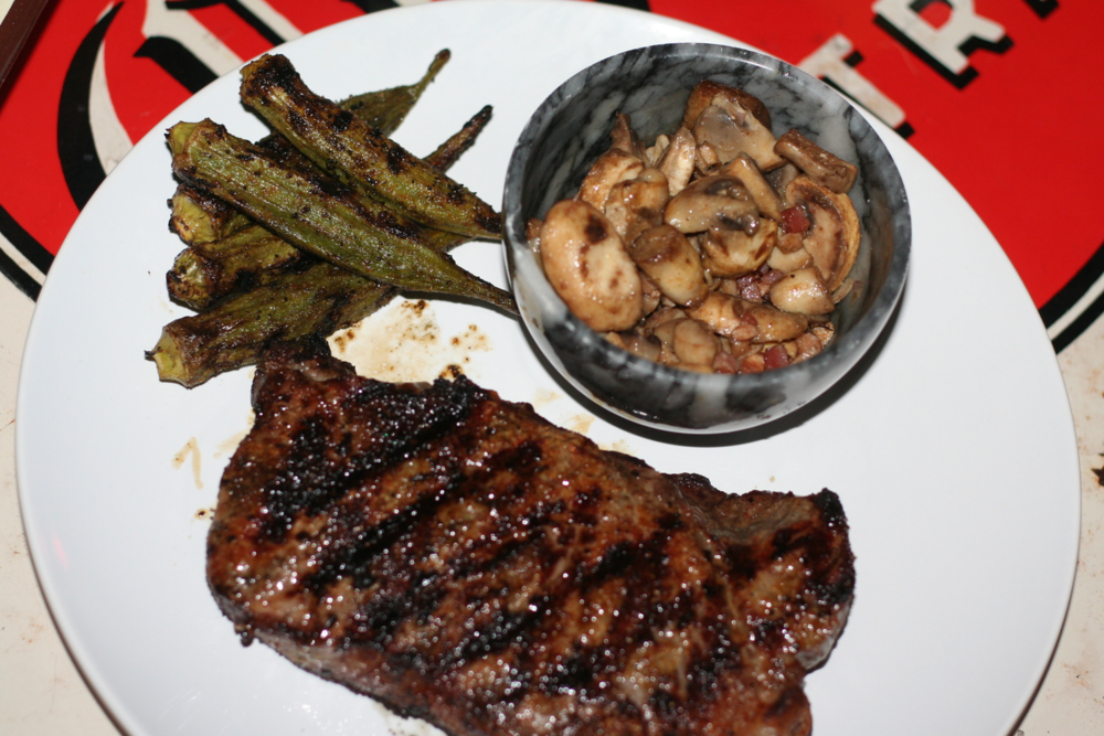 For a good steak recipe, see my post, Perfectly Cooked Steak by Bobby Flay.