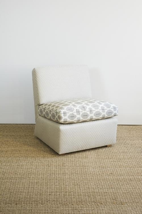 Billy Baldwin Large Slipper Chair