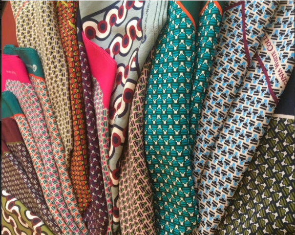 scarves, fabric & more -