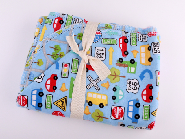 Cars and Maps by Doddle Bug Design C799 - Blue