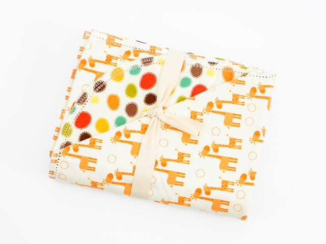 Giraffe Crossing by Riley Blake Design  C743 - Yellow P5938 - Dark Brown P5722 - Orange