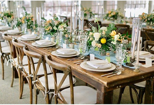 The delight is in the details! Featured on @weddingbells magazine.  @langdonhall Open House 2017. @plateoccasions Plate Occasions - place setting @corinavphotography Corina V Photography - photography @guelphtents Guelph Tent Rentals - harvest tables Produced by @thewhitebookcompany  The White Book Company - planning and design @ferriswheelpress Ferris Wheel Press - stationery and signage @living_fresh Living Fresh - floral and candles @att_linenrental Around the Table - napkins