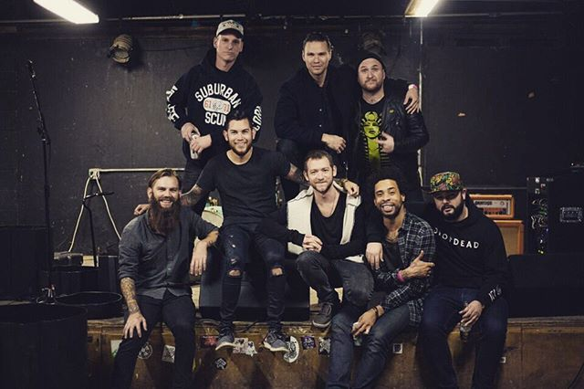 Had the best time with this group of dudes. Huge thank you to the homie @tilianpearson for bringing me out. Also Thank you to @mikeziemer, my band, and everyone who came out to the shows for making this tour so amazing. See you all again really soon!❤️🙏
