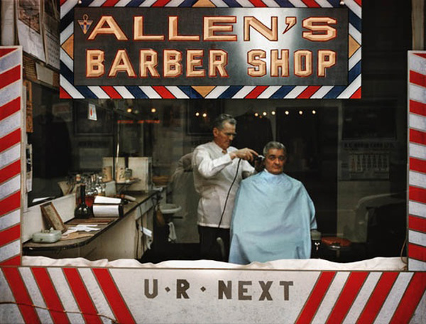 Barber Shop photo by Fred Herzog