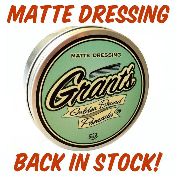 Matte_Dressing_Grant's 2