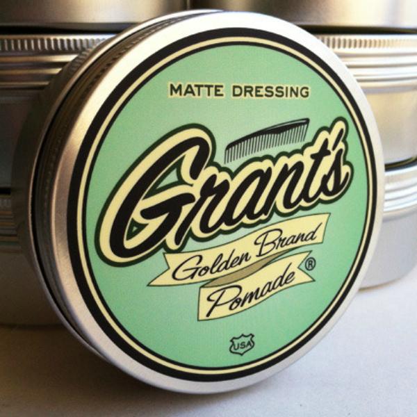 Matte Dressing Grant's_Golden_Brand_Pomade1