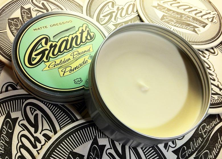 Matte Dressing Grant's Golden brand Pomade 3.JPG