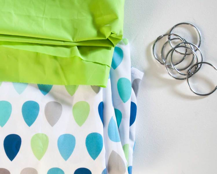 Raindrop Curtain Diy From Target Shower